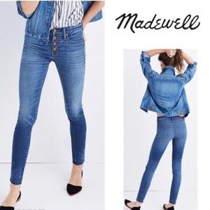 New Madewell Jeans High Rise Skinny